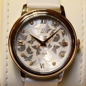High Quality Replica Omega De Ville Watch Elegant Splendour Hands On