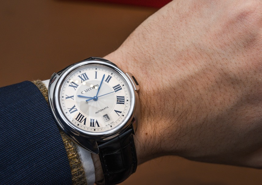 The Cle De Cartier Replica Watch In Rose Gold And Steel