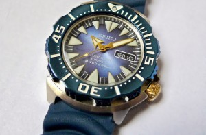 Seiko SRP455K1 100th anniversary blue monster (1)