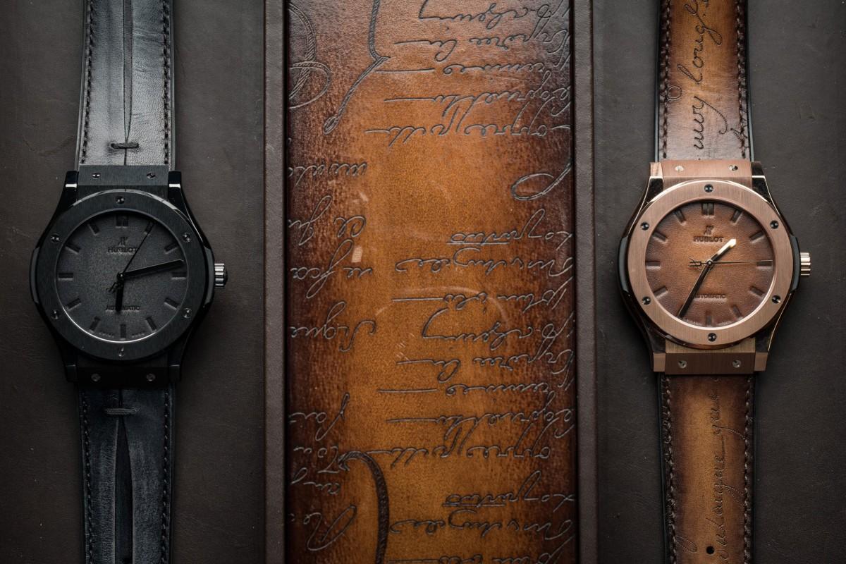 Hands-on Classic Hublot Fusion Berluti Replica Watch