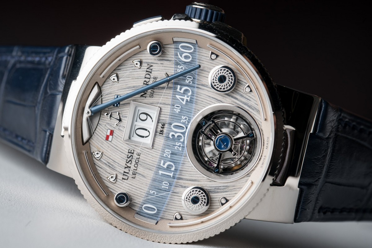 The Creative Ulysse Nardin Grand Deck Marine Tourbillon Replica Watch Launches