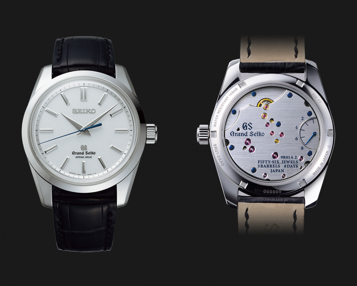 Replica Grand Seiko Spring Drive 8 Day Power Reserve, A Great Imitation From The Famed Micro Artist Studio