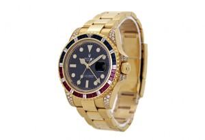 Rolex-GMT-Master-II-Gold-Stones-Watch