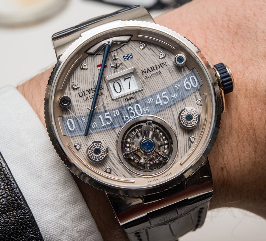 Combining Technology and Tradition: Ulysse Nardin Grand Deck Marine Tourbillon Replica