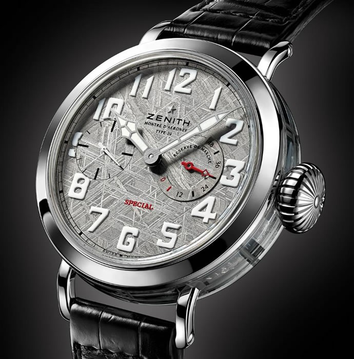 the perfect chronograph time familiar with ZenithPilot Type 20 Hommage replica