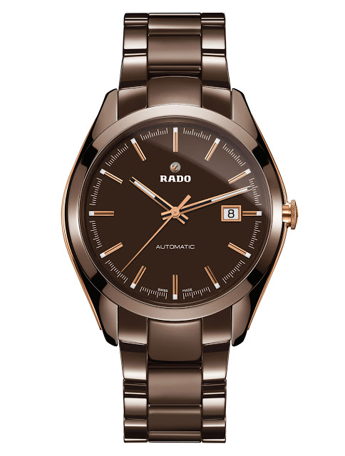 An Automatic Chronograph Imitation of Rado HyperChrome Brown Ceramic