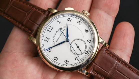 A. Lange & Sohne 1815 'Homage To Walter Lange' Watch Hands-On Hands-On