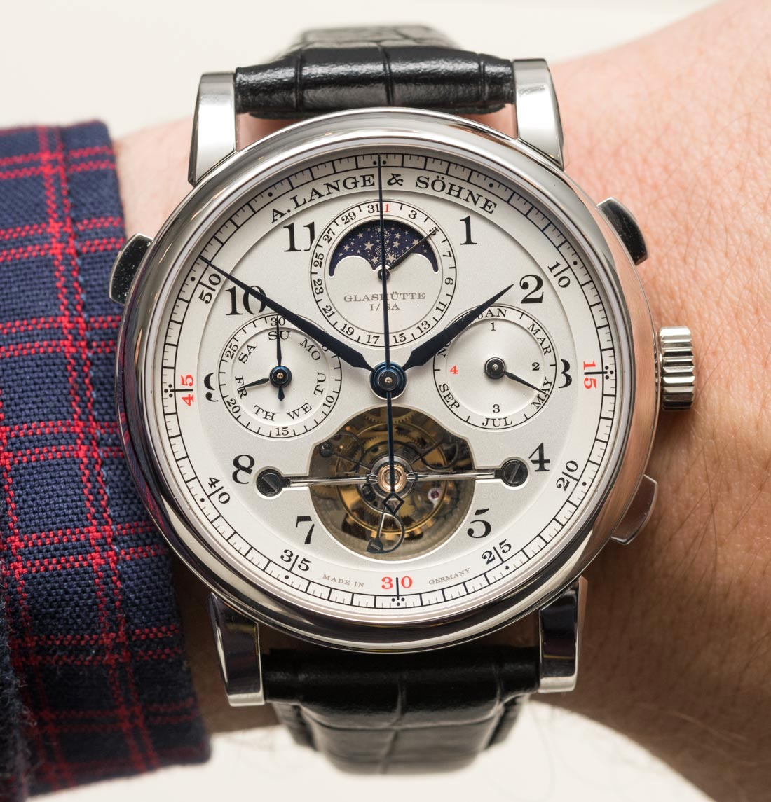 A. Lange & Söhne Tourbograph Perpetual 'Pour Le Mérite' Watch Hands-On Hands-On