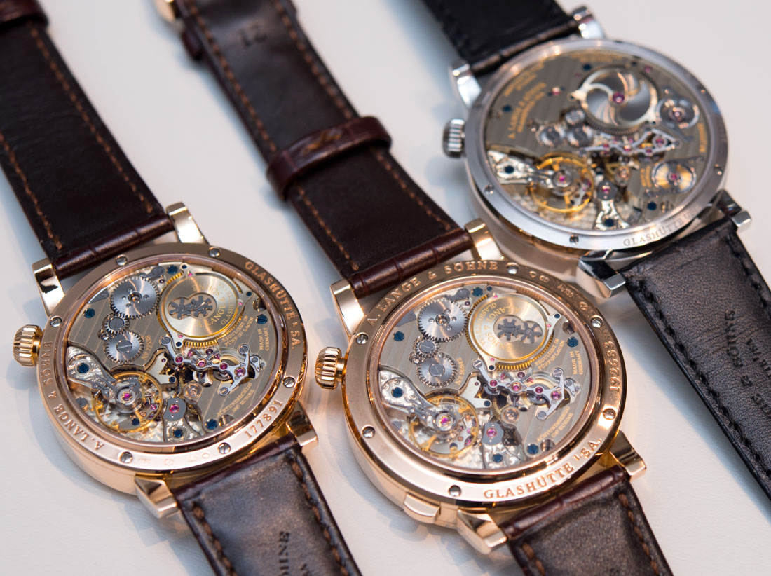 Three Incredible A. Lange & Söhne Zeitwerk Watches Hands-On Hands-On