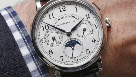 A. Lange & Söhne 1815 Annual Calendar Watch Hands-On Hands-On