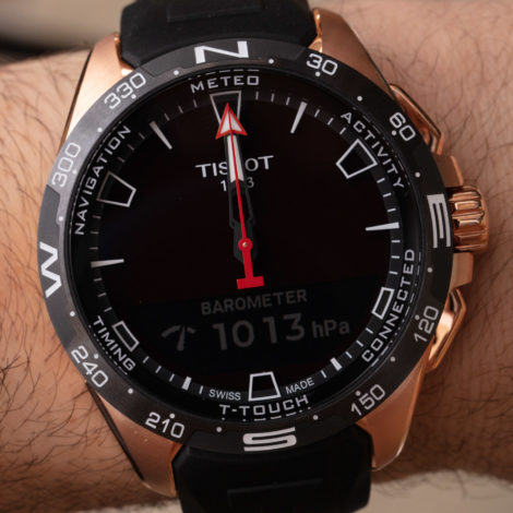 Tissot T-Touch Connect Solar Fake Watch Interview With CEO Sylvain Dolla Hands-On
