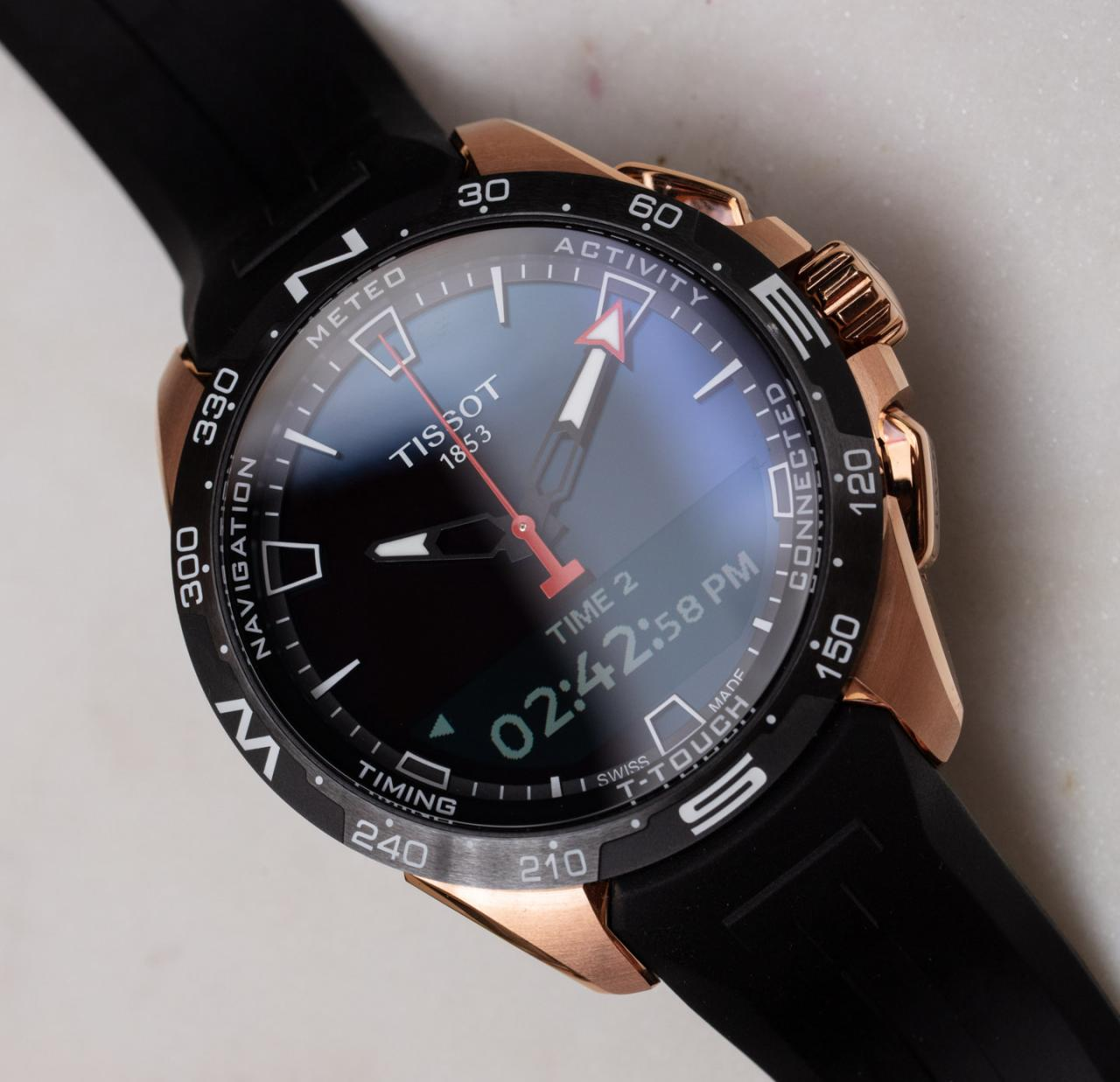 Tissot T-Touch Connect Solar Fake Watch